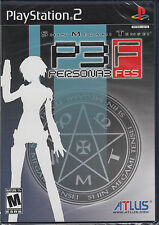 Shin Megami Tensei Persona 3 FES  PS2 Sony PlayStation 2 Brand New Sealed