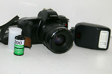 Canon EOS Rebel X 35mm Camera EF 35-70mm Lens Speedlite 200E Working Condition