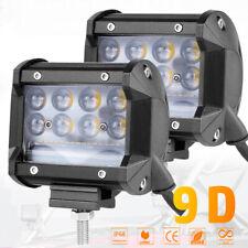 """Pair 4"""" 230W LED Work Light Bar Spot Flood Combo Driving Fog Off Road Pickup 12V"""