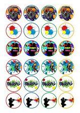 24 glaçages pour gâteau glaçage décoration paintball paint ball Peinture Balling