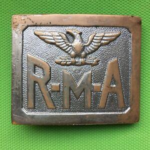 RMA belt buckle