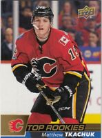 MATTHEW TKACHUK NO:R-6 TOP ROOKIES in UPPER DECK MJ HOLDINGS HOCKEY 2017-18   a