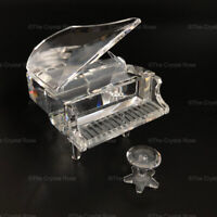 RARE Retired Swarovski Crystal Grand Piano with Stool 174506 Mint Boxed