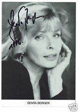 Senta Berger Australian Actress  Hand Signed Photograph  6 x 4