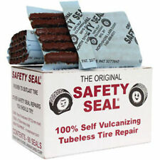 Safety Seal Tire Plugs, 6 PIECES - (one packet) tire repair brown plugs kit, 4""