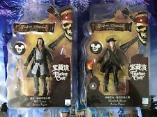 Pirates Of The Caribbean Elizabeth Swann Will Turner Action Figure Shanghai Lot