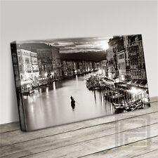 Venecia Italia magnífico moderno lienzo de impresión del paisaje actualizado a 120x56cm