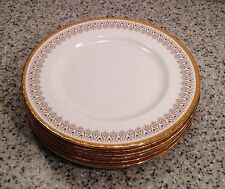 "ROYAL ALBERT England BURLINGTON Bone China 8 1/4"" SALAD PLATES Set of 6"