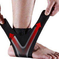 Ankle Support Strap Adjustable Brace Foot Sprains PainRelif Sports Protector DD