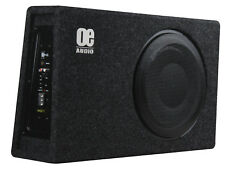 "OE Audio 12"" Sub Woofer Built in Amp Amplificato Attivo Sottile Bassbox poco profonde"