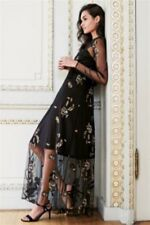 Next Party Occasion Embroidered Maxi Dress  Size14 (petite) RRP £98