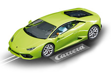 Carrera Lime Green Lamborghini Huracán LP610-4 1/32 Slot Car 27493