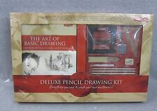 New Walter Foster Deluxe Pencil Drawing Kit Sealed Art Draw Set