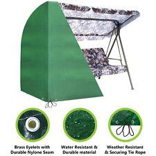 Heavy Duty Waterproof Cover for 3 Seater Swinging Garden Hammock Swing Patio *