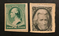 TDStamps: US Stamps Scott#73 213 Unused On-Piece