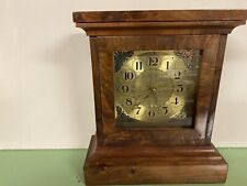 Solid Walnut Clock hand made. Battery operated