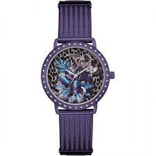 "GUESS DONNA ""Willow"" Vestito Viola Watch W0822L4-RRP £ 205"