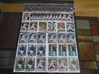 BALTIMORE ORIOLES DJ STEWART RC LOT X66 BOWMAN CHROME & TOPPS W/ REFRACTORS LOOK