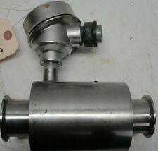 Ime Pressure Sensor Model 10808E Ss used Sanitary Transmitter