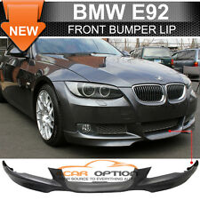 07-10 BMW E92 2Dr OE M Tech Msport Style Front Bumper Lip Spoiler - PP