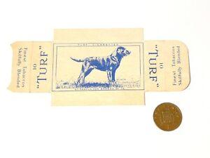 Original Carreras Turf Brand Card Famous Dog Breeds No. 36 Black Lab w/ Tabs