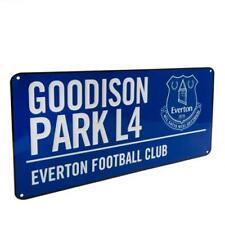 Everton Fc métal rue signe BL bleu Goodison Park mur panneau routier