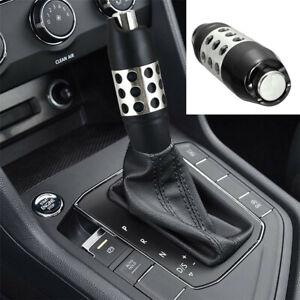 Automatic Gear Stick Shift Knob Shifter Kits Alloy Aluminum Black Fit For Car