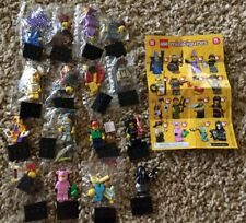Lego 71007 Series 12 Minifigures Complete Collectible Wizard Goth Girl Piggy 🐷