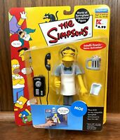 Moe The Simpsons World Of Springfield Series 3 Action Figure New WOS Playmates