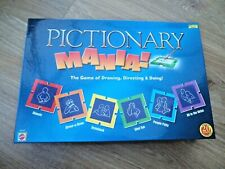 Pictionary Mania Board Game - Family Fun - Complete - Excellent Condition