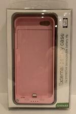 Externo Batería Alimentación caso para Apple iPhone 5 - 2200mAh-Rosa
