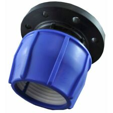 110mm PE×100DN BLUE LINE METRIC POLY PIPE FLANGE ADAPTOR NMF100 Suit Water Meter