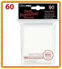 60 Ultra Pro DECK PROTECTOR Card Sleeves White Yu-Gi-Oh Vanguard Card Protectors
