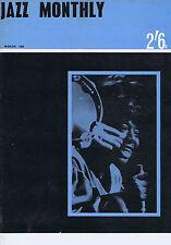BRUCE TURNER / DUNCAN LAMONT / SONNY ROLLINSJazz Monthly  Mar1965