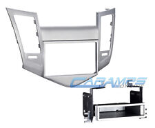 CHEVY CRUZE DOUBLE 2 DIN CAR STEREO DASH INSTALLATION TRIM BEZEL MOUNTING KIT