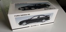 Sealed Ford Sierra RS Cosworth 1/18 Autoart millenium Noire Black 72861