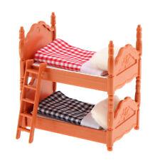 Hochbett Doppelstockbett Bett Pine Bunk Beds Puppenstube 1:12 Art DF886