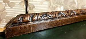 Large sun shell decorative carving pediment Antique french architectural salvage