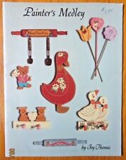 JOY THOMAS 1986 PAINTER'S MEDLEY BEGINNER Painting Booklet