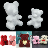 Modelling Polystyrene Styrofoam Foam Bear Craft Valentine Party Supplies Gift