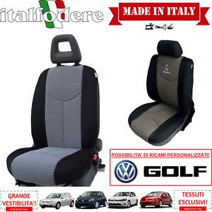 COPPIA COPRISEDILI Specifici Volkswagen GOLF Foderine ANTERIORI GOLF Grigio 15
