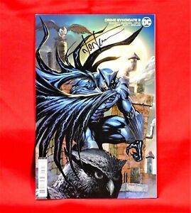 CRIME SYNDICATE #2 EXCLUSIVE LIMITED VARIANT EDITION SIGNED ARTIST TYLER KIRKHAM