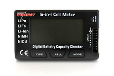 Tenergy 5-in-1 Intelligent Cell Meter Battery Capacity Checker Servo PPM Tester