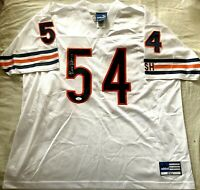 Brian Urlacher autographed signed Bears authentic Adidas stitched jersey JSA COA