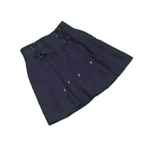 Ralph Lauren Skirts Navy Woman Authentic Used L2170