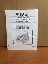 Bobcat CT440 CT445 CT450 Compact Tractor Service Manual Shop Repair Book 6987079