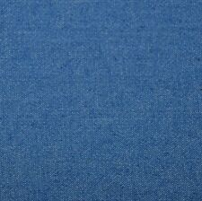 Stretch Cotton Denim 8 oz Fabric by the yard - Light Blue