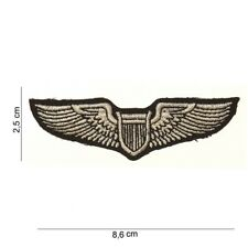 USAF US Army Airforce  A2 G1 B-17 P-51 Patch Leather Jacket Pilot Wings #00 WW2