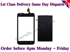 New Huawei Ascend Y550 Touch Digitizer Glass + LCD Screen Display Black