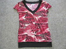 New Womens Maurices Blouse Top Sz s